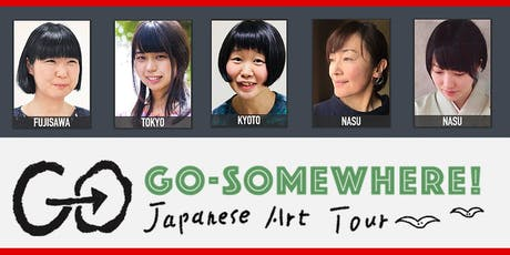 Go Somewhere! Japanese Art Exhibition /Allons-y! Exposition d'arts japonais tickets