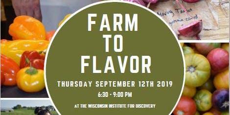 Farm to Flavor Dinner 2019