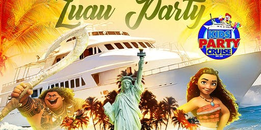 Kids Party Cruise Hawaiian Luau Hosted by Moana & Maui