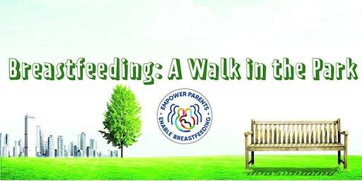 Breastfeeding: A Walk in the Park