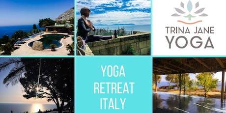 Yoga Retreat Italy biglietti