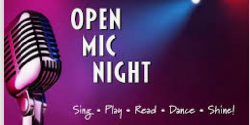 Open Mic Sixty Cent Wings & FREE Margaritas