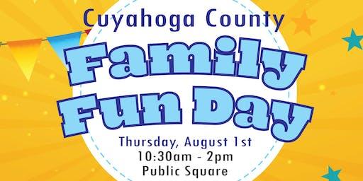 Cuyahoga County Family Fun Day