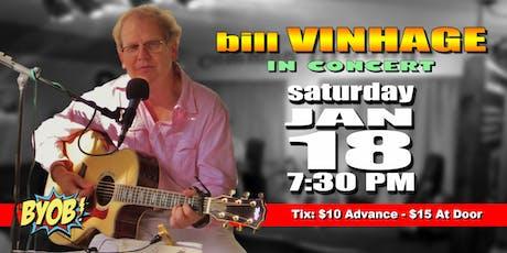 Bill Vinhage tickets