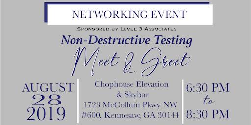 Level 3 Associates:Non- Destructive Testing Meet & Greet - Networking Event
