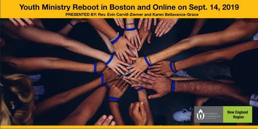 Youth Ministry Reboot in Boston and Online