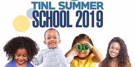 TINL Summer School 2019 tickets