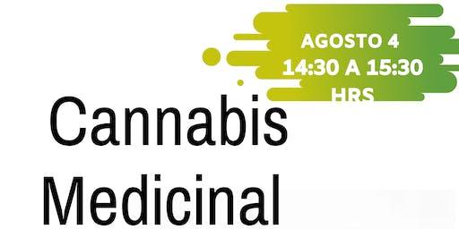 """Conferencia Gratuita """" Cannabis Medicinal"""""""