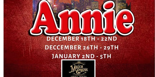 Auditions For Annie The Musical!!!