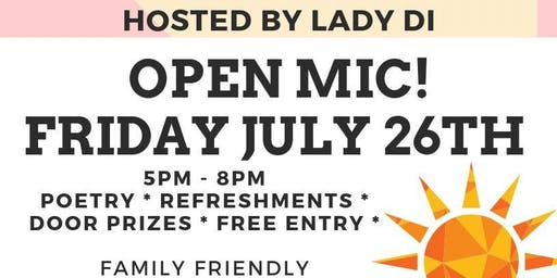 Open Mic with Lady Di