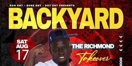 The Richmond Takeover Backyard Band - DJ Sir RJ - High Definition Band - LC tickets