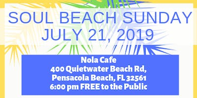 Soul Beach Sunday July Edition