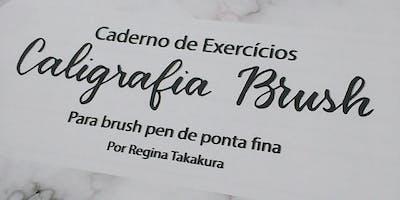 Mini Workshop de Lançamento do Caderno de Exercícios de Caligrafia Brush