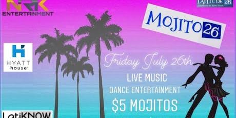 Mojito 26 Night tickets
