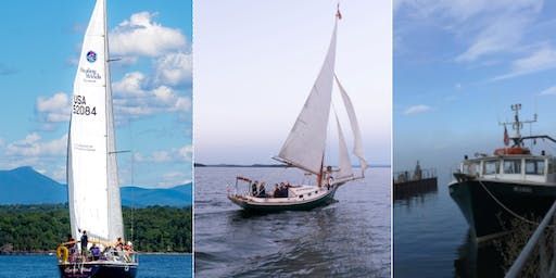 Lake Champlain Maritime Festival - FREE boat rides with Whistling Man Schooner Co, Healing Winds, UVM's Research Vessel, the Melosira!