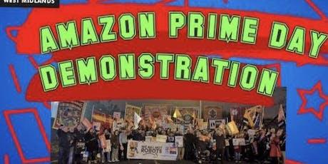 Amazon Protest minibus From Shrewsbury/Telford  tickets