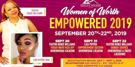 Women of Worth Empowered 2019 tickets