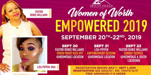 Women of Worth Empowered 2019