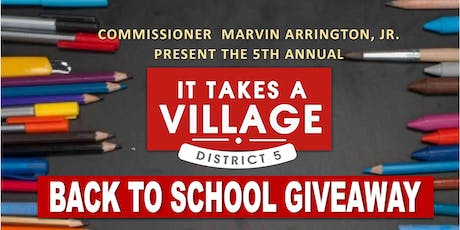 5th Annual It Takes A Village - SE tickets