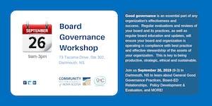 Board Governance-CENTRAL Region