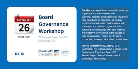 Board Governance-CENTRAL Region tickets