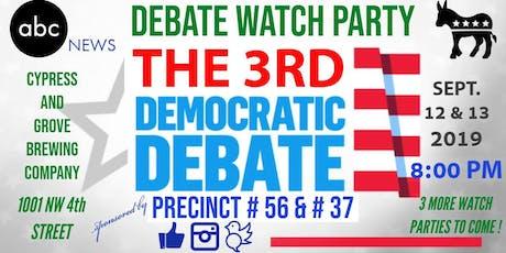 Alachua County Democratic Precinct #56 and #37 ABC News Democratic Debate Watch Party! tickets
