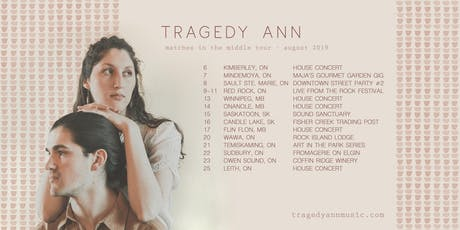Tragedy Ann | House Concert | Owen Sound, ON tickets