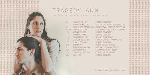 Tragedy Ann | House Concert | Owen Sound, ON