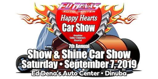 7th Annual Happy Hearts Car Show at Ed Dena's Auto Center