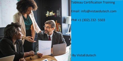 Tableau Certification Training in Burlington, VT