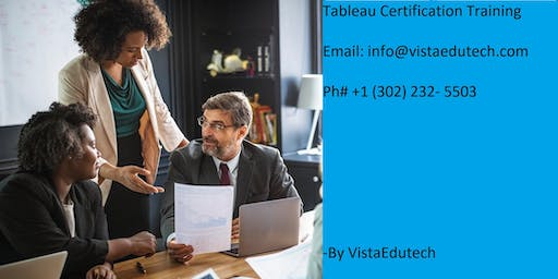 Tableau Certification Training in Corpus Christi, TX