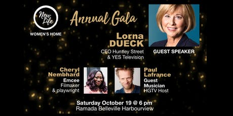 New Life Women's Home Annual Gala tickets