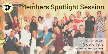 Members Spotlight Session tickets