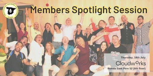 Members Spotlight Session