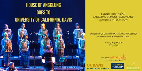 House of Angklung Goes to University of California, Davis tickets