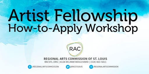 Artist Fellowship How-to-Apply Workshop at Intersect Arts Center