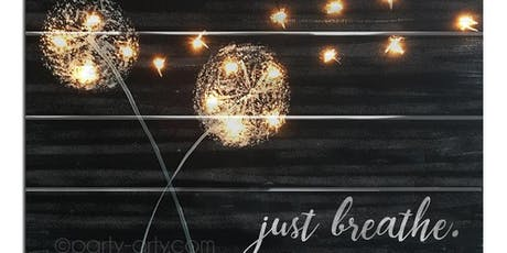 Wish Pallet with Lights Sip & Paint Party Art Maker Create Class tickets