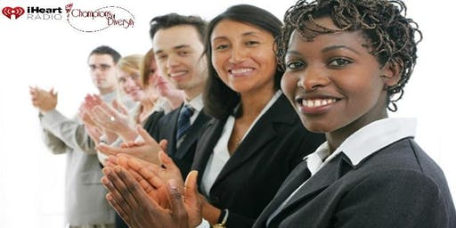 I Heart Radio Plano Champions of Diversity Job Fair