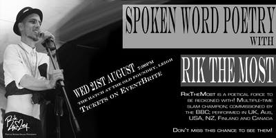 Spoken Word Poetry with RikTheMost