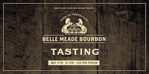 Belle Meade Bourbon Tasting