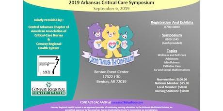 2019  Arkansas Critical Care Symposium - Caring Through the Continuum tickets