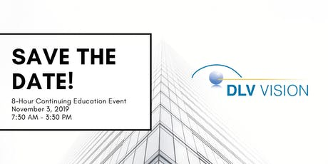 DLV Vision 8-Hour Continuing Education Event 2019 tickets