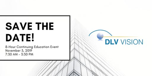 DLV Vision 8-Hour Continuing Education Event 2019