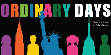 Ordinary Days — October 18, 19, 20 tickets