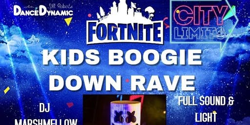Childrens Fortnite Themed Rave Dance Party
