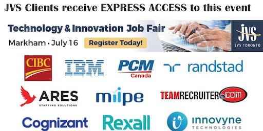 Technology & Innovation Job Fair (MARKHAM)
