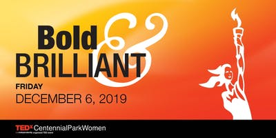 Save the Date: TEDxCentennialParkWomen 2019