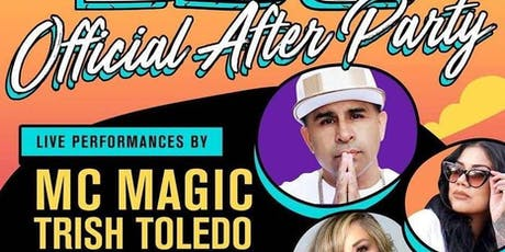 Mc Magic and Trish Toledo Live at QC At The Official LBC After Party tickets