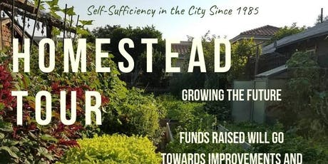Urban Homestead Tour - August  tickets