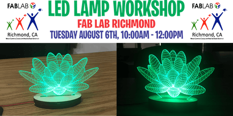 Fab Lab Richmond - LED Lamp Workshop tickets